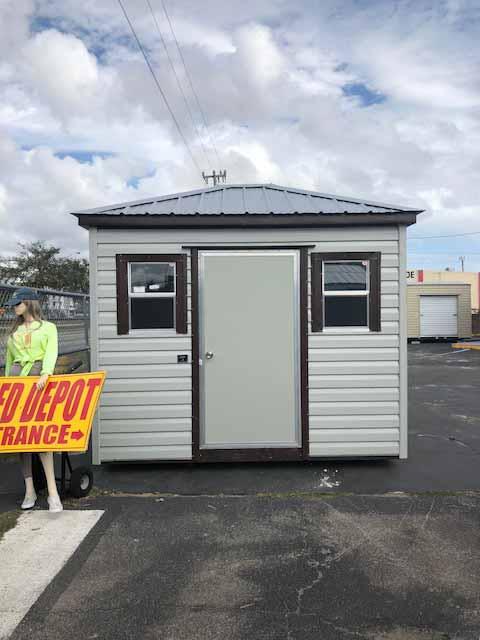 187 Hip Roof Model Shed Depot